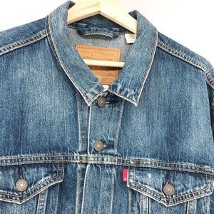 Levi Strauss & Co Denim Trucker Jacket